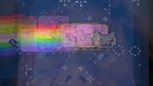 from 'Nyan Cat (Psycho Cat)' by Mauricio Sanhueza